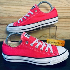 New Converse All Star Canvas Strawberry Jam Shoes